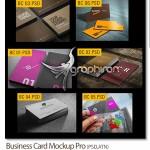 دانلود طرح های ماکت پیش نمایش کارت ویزیت Business Card Mockup