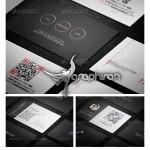 دانلود مجموعه ۳ کارت ویزیت براق و مدرن فرمت PSD – شماره ۱۸۸