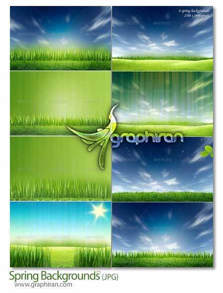 Spring.Backgrounds دانلود عکس های پس زمینه فصل بهار Spring Backgrounds
