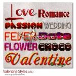 دانلود ۱۰ استایل متن جدید عاشقانه فتوشاپ بسیار زیبا