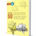 کتاب الکترونیک آموزش نقاشی ۵۰ نوع هیولا Draw 50 Beasties