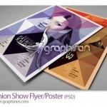 دانلود پوستر گرافیکی لایه باز با طراحی مدرن و تم های رنگی مختلف