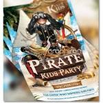 دانلود فون و پوستر کودک دزد دریایی با طراحی حرفه ای و فرمت PSD