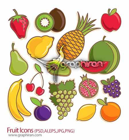 آیکون میوه