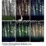 اکشن های فتوشاپ ساخت افکت فضاهای ترسناک Eerie Atmosphere Actions