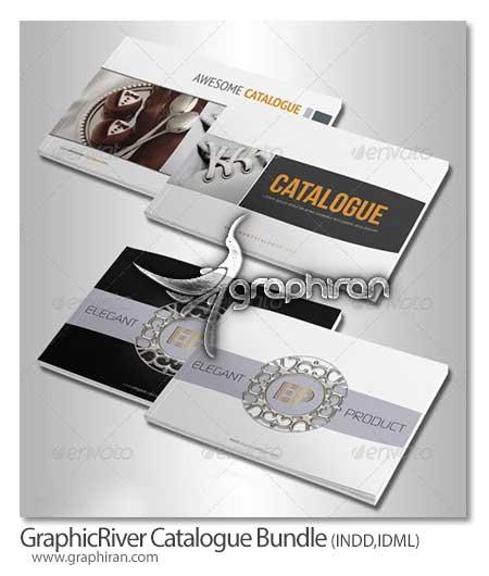Catalogue Bundle دانلود رایگان 3 قالب آماده و لایه باز کاتالوگ با طراحی حرفه ای