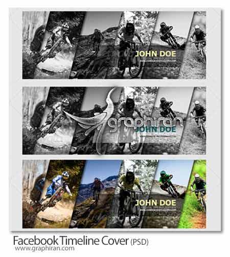 Facebook Timeline Cover دانلود کاور جدید فیسبوک با طراحی هنری و زیبا فرمت PSD
