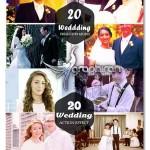 دانلود ۴۰ اکشن فتوشاپ افکت عکس عروسی Wedding Photoshop Actions