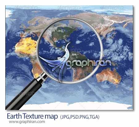تکسچر کره زمین