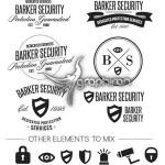 دانلود وکتور لوگو و آیکون با موضوع امنیت و حفاظت فرمت EPS و AI