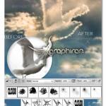 دانلود اکشن، براش و استایل فتوشاپ ساخت ابر از انواع شکل و متن
