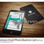 دانلود وکتور کارت ویزیت آماده طرح گوشی موبایل – شماره ۲۱۶
