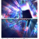 پروژه افتر افکت نمایش متن و لوگو به شکل نئون Neon Opener