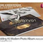 دانلود قالب لایه باز آلبوم عکس عروسی با طراحی مدرن و زیبا