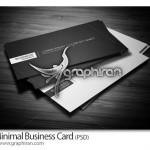 دانلود طرح خام کارت ویزیت ساده و زیبا فرمت PSD – شماره ۲۱۴
