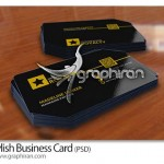 دانلود کارت ویزیت آماده با طراحی خاص فرمت PSD – شماره ۲۱۳