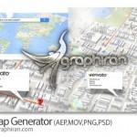 دانلود پروژه افتر افکت ساخت نقشه سه بعدی ۳D Map Generator