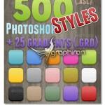 دانلود مجموعه ۵۰۰ استایل و گرادیان پرکاربرد فتوشاپ