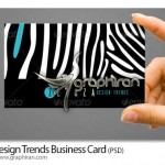 دانلود فایل خام کارت ویزیت با طراحی گرافیکی خاص – شماره ۲۲۰