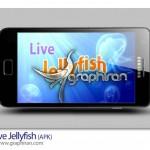 دانلود لایو والپیپر عروس دریایی اندروید Live Jellyfish V1.0