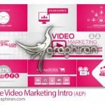 دانلود پروژه افتر افکت اینترو بازاریابی ویدئویی آنلاین