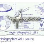 دانلود فایل پروژه افتر افکت اینفوگرافیک به سبک نوشته روی کاغذ