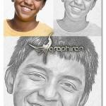 اکشن فتوشاپ حرفه ای تبدیل عکس به نقاشی اکرلیک مایع