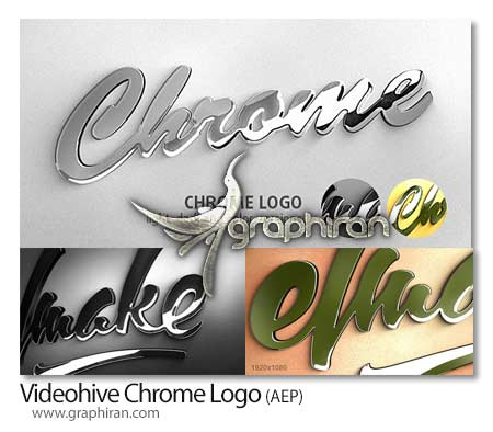 Videohive Chrome Logo