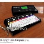 دانلود فایل خام کارت ویزیت با طراحی خاص فرمت PSD – شماره ۲۲۱