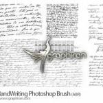 براش فتوشاپ دست نوشته های زیبا مناسب طراحی پس زمینه