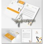 دانلود نمونه لایه باز ست اداری زیبا با طراحی مینیمال – شماره ۸۰