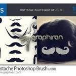 دانلود براش فتوشاپ انواع سبیل Mustache Photoshop Brush