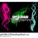 دانلود براش جدید فتوشاپ افکت های نور انتزاعی با کیفیت
