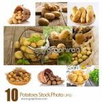 دانلود تصاویر استوک سیب زمینی در سبد Basket of Potatoes