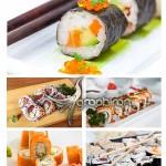 دانلود عکس های استوک سوشی غذای ژاپنی Sushi Stock Photo