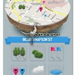 3D Map Mockup 150x150 Galaxy S7 Edge Vector Mockup ماک آپ گوشی گلکسی S7