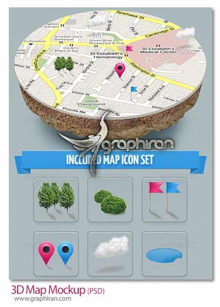 نقشه 3 بعدی گوگل