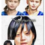 اکشن فتوشاپ تبدیل عکس به نقاشی خلاقانه با مداد رنگی