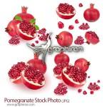 دانلود تصاویر استوک با کیفیت انار Pomegranate Stock Photo