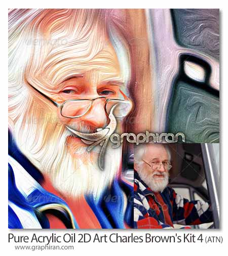 Pure Acrylic Oil 2D Art – Charles Brown's Kit 4
