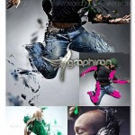 Shatter Photoshop Action 150x150 اکشن جدید فتوشاپ خرد کردن عکس Dispersion Photoshop Action