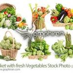 دانلود عکس های استوک سبزیجات مختلف Vegetables Stock Photo
