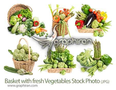 عکس استوک با کیفیت سبزیجات