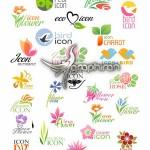 دانلود مجموعه لوگو وکتور با موضوع طبیعت Nature Logo Vector