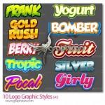 دانلود استایل های گرافیکی مخصوص طراحی لوگو برای Illustrator