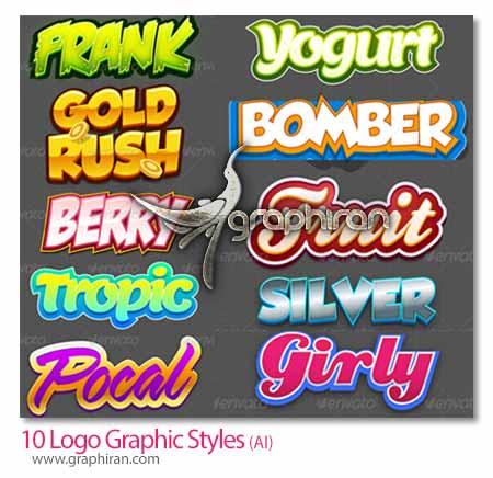 دانلود استایل طراحی لوگواستایل طراحی لوگو