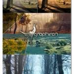 اکشن های فتوشاپ افکت عکس مناظر طبیعی Nature Photoshop Action
