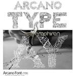 دانلود فونت انگلیسی Arcano با طراحی تزئینی خاص و بسیار زیبا