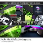 دانلود پروژه افتر افکت نمایش لوگو شکل فلز براق و منعکس کننده نور