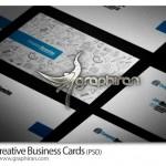 دانلود نمونه کارت ویزیت خلاقانه فرمت PSD فتوشاپ – شماره ۲۲۵